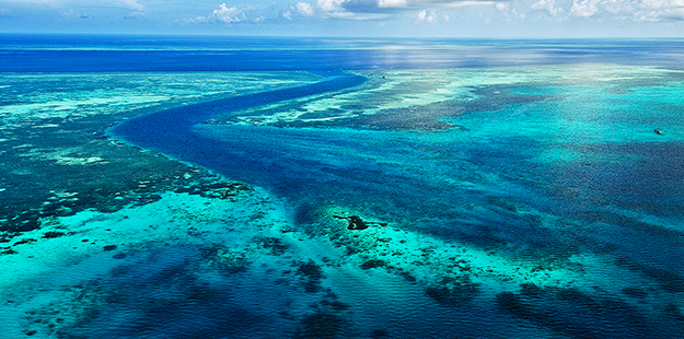 View of reefs flying over to Wakatobi 2_didi Lotze