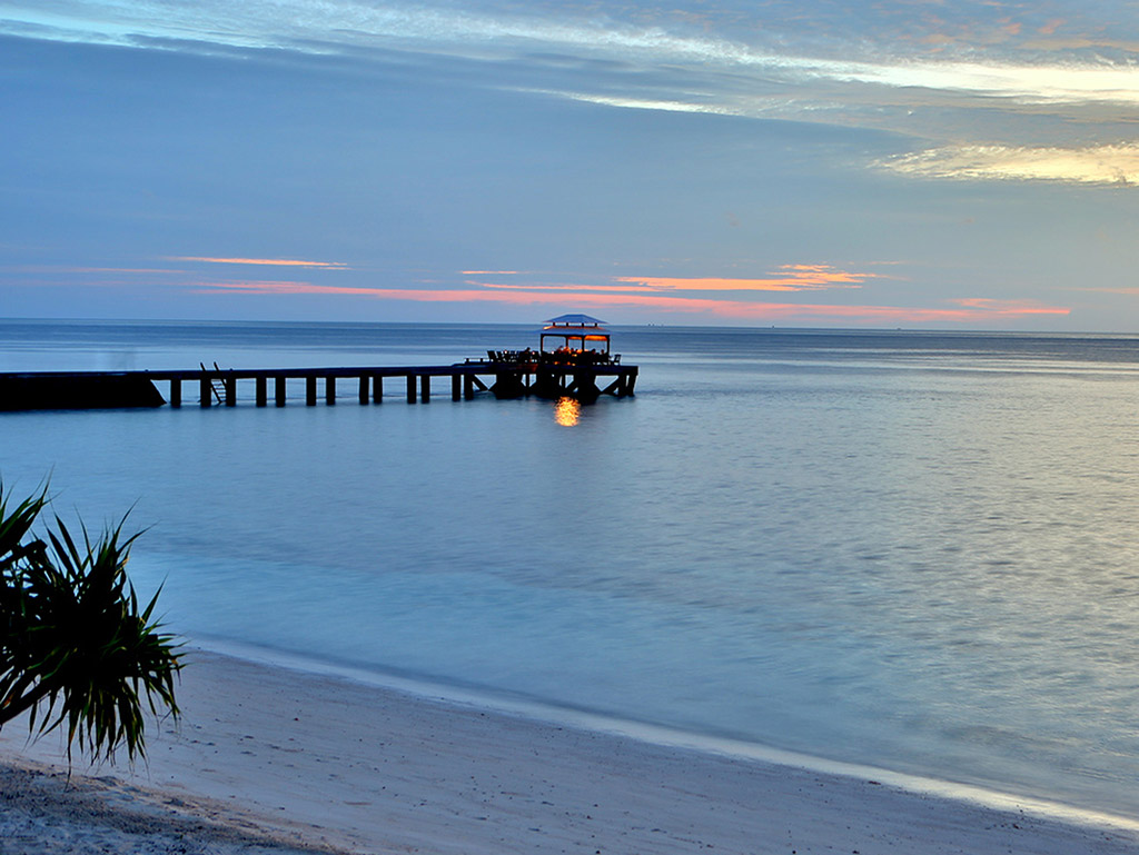 Sunsets at Wakatobi can only be explained with one word: Ahhhhhhh. (photo Wakatobi Dive Resort)