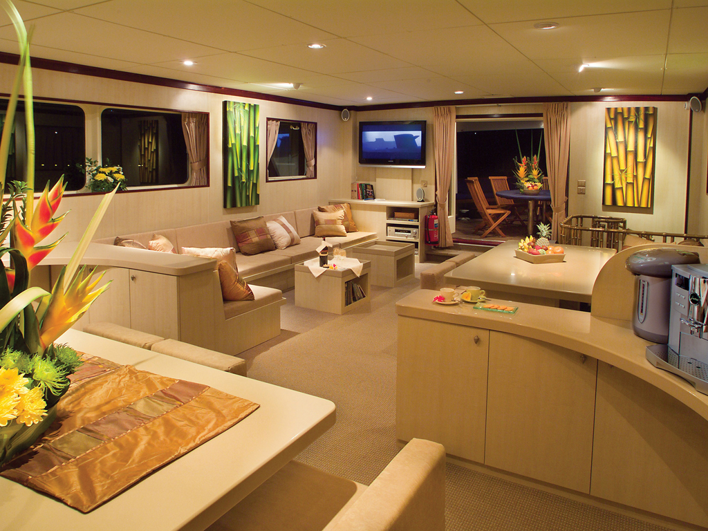 Yacht Pelagian Lounge