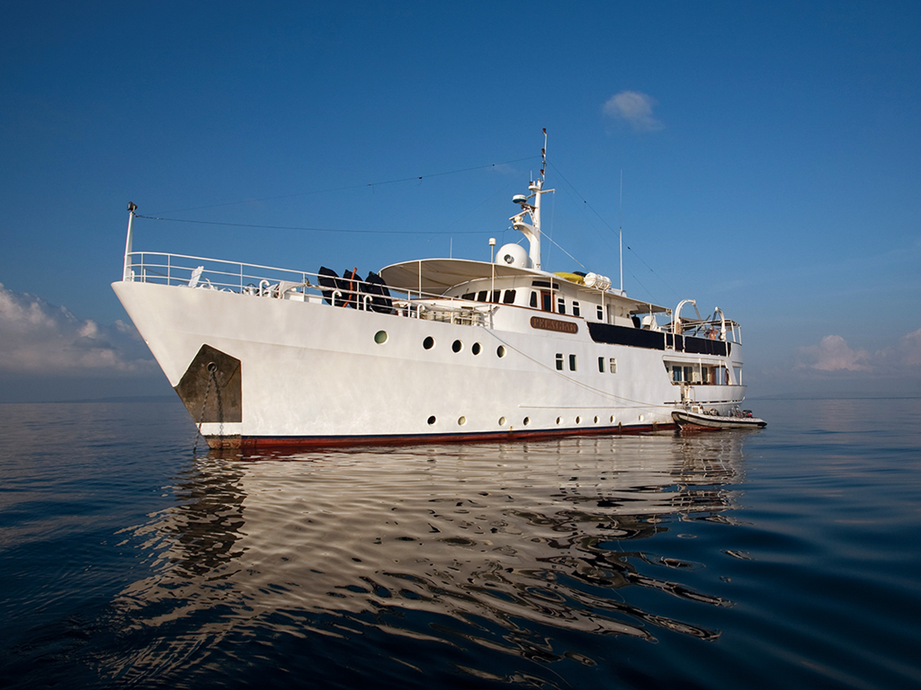 """The Pelagian is a Yacht of comfort, a crew that is always helpful and the good food of a 5-star restaurant. In one word –""Awesome!"" – Paul Yeomans, March 2013 photo by Saskia van Wijk"