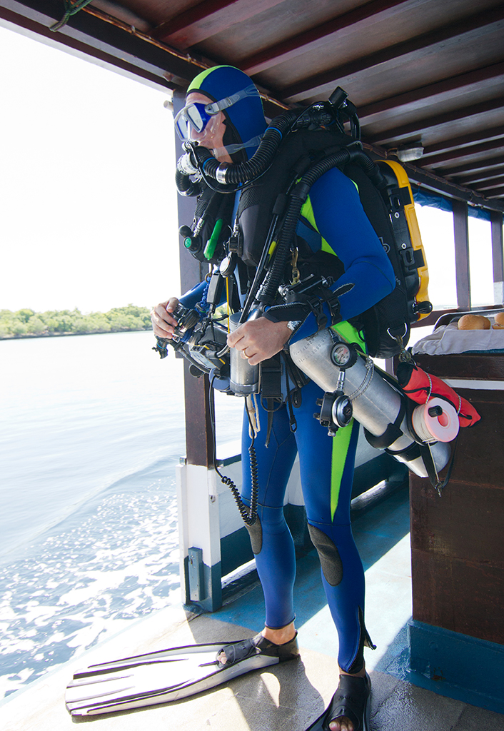 CCR Diving