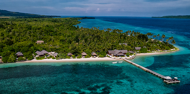 "Wakatobi is located on the remote island of Onemobaa, 1,000 km east of Bali, and is often referred to as ""a diver's paradise."" Photo by Didi Lotze"
