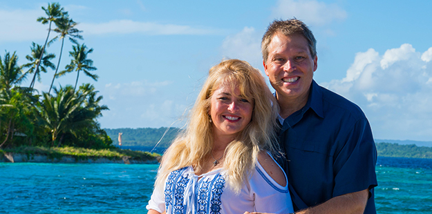 Shannon and Mathis Weatherall celebrated their anniversary at Wakatobi Resort in June 2016 and enjoyed the Bali stopovers our team arranged before and after their trip. Photo by Wakatobi Resort