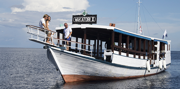 Wakatobi's private boat option is one of our greatest values allowing divers and snorkelers the freedom to create their own itinerary for the day, or go with the flow as opportunities arise.