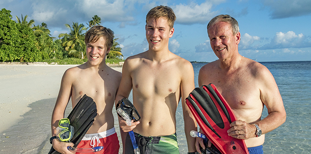 Whether you're jumping in on the House Reef or from our dive boats snorkelers are offered the same full support services provided to divers.