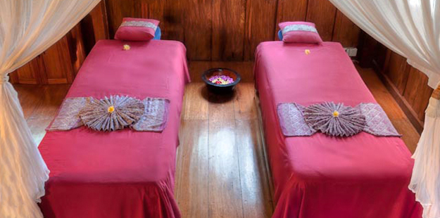 A visit to the Wakatobi Spa is great way for couples to experience the Wakatobi Flow. Photo by Wakatobi Resort