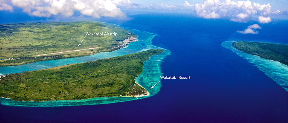 Wakatobi's Guest Flight makes travel to the resort comfortable and convenient