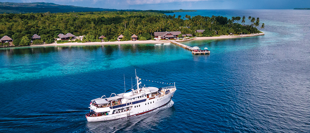 What's the perfect dive vacation? How about a week at Wakatobi Resort, with days filled with regular boat dives and plenty of additional shore dives. Or would you rather cruise aboard a luxury dive yacht voyaging through the Wakatobi Islands and beyond, visiting dive sites known only to a few. With either choice, you'll get the added bonus of impeccable service, world-class dining and first-class accommodations. Why not do both?