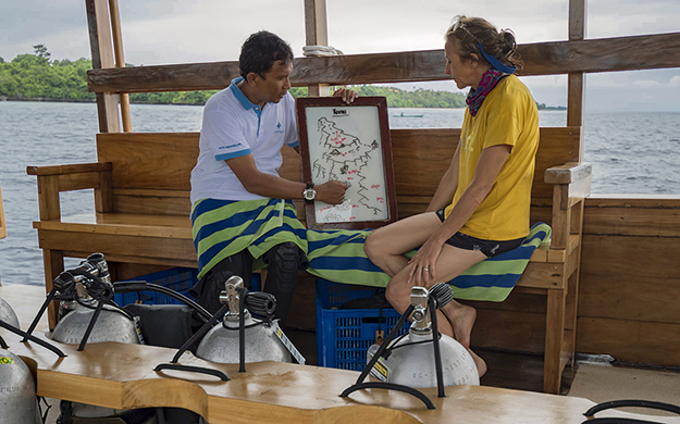 Our experienced guides provide each diver and snorkeler with an appropriate level of individualized attention and assistance and are very knowledgeable on the intricacies of all the reefs.