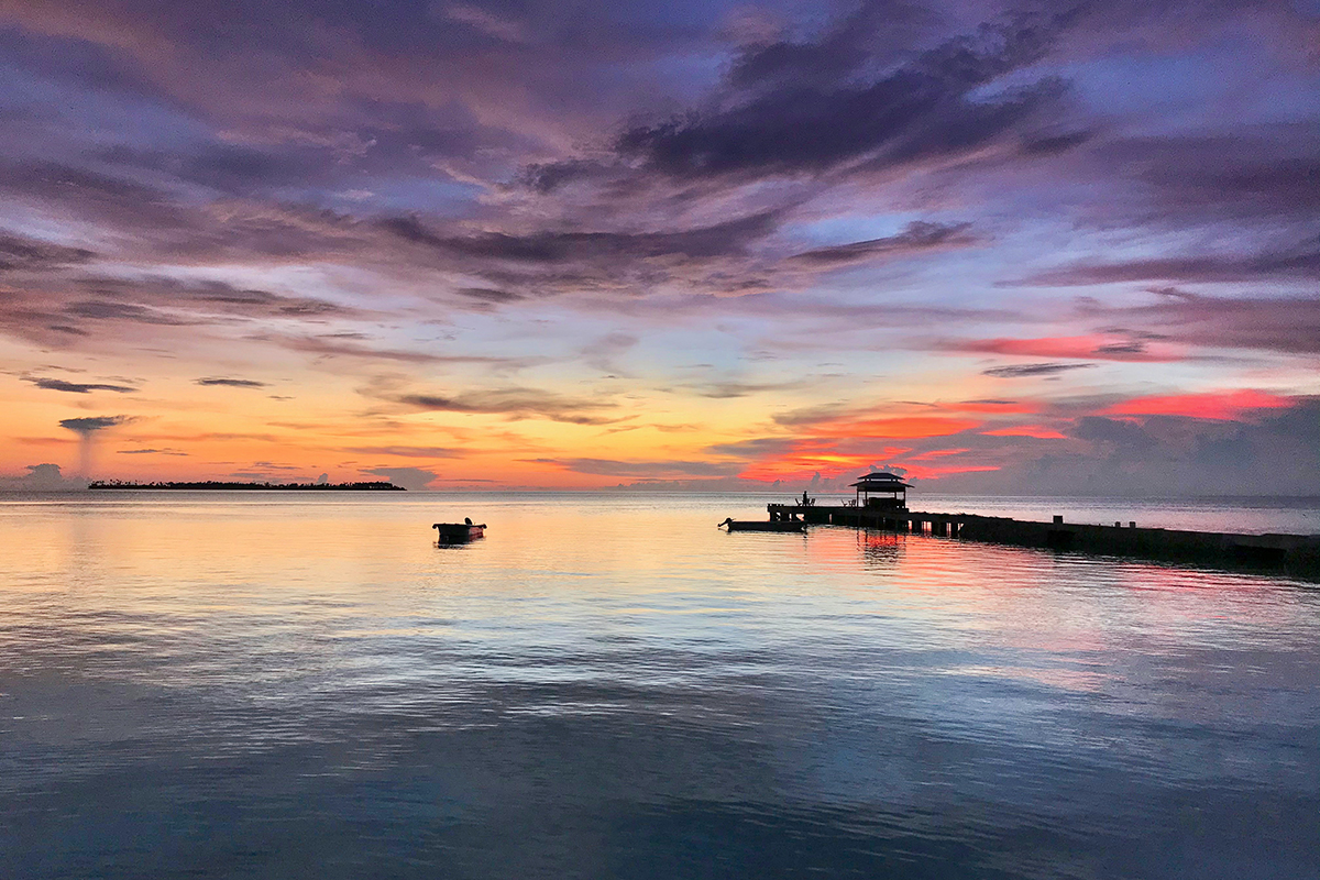 Miss the Wakatobi sunsets? They have been nothing less than spectacular during the pandemic hibernation. Photo by Lorenz Mäder