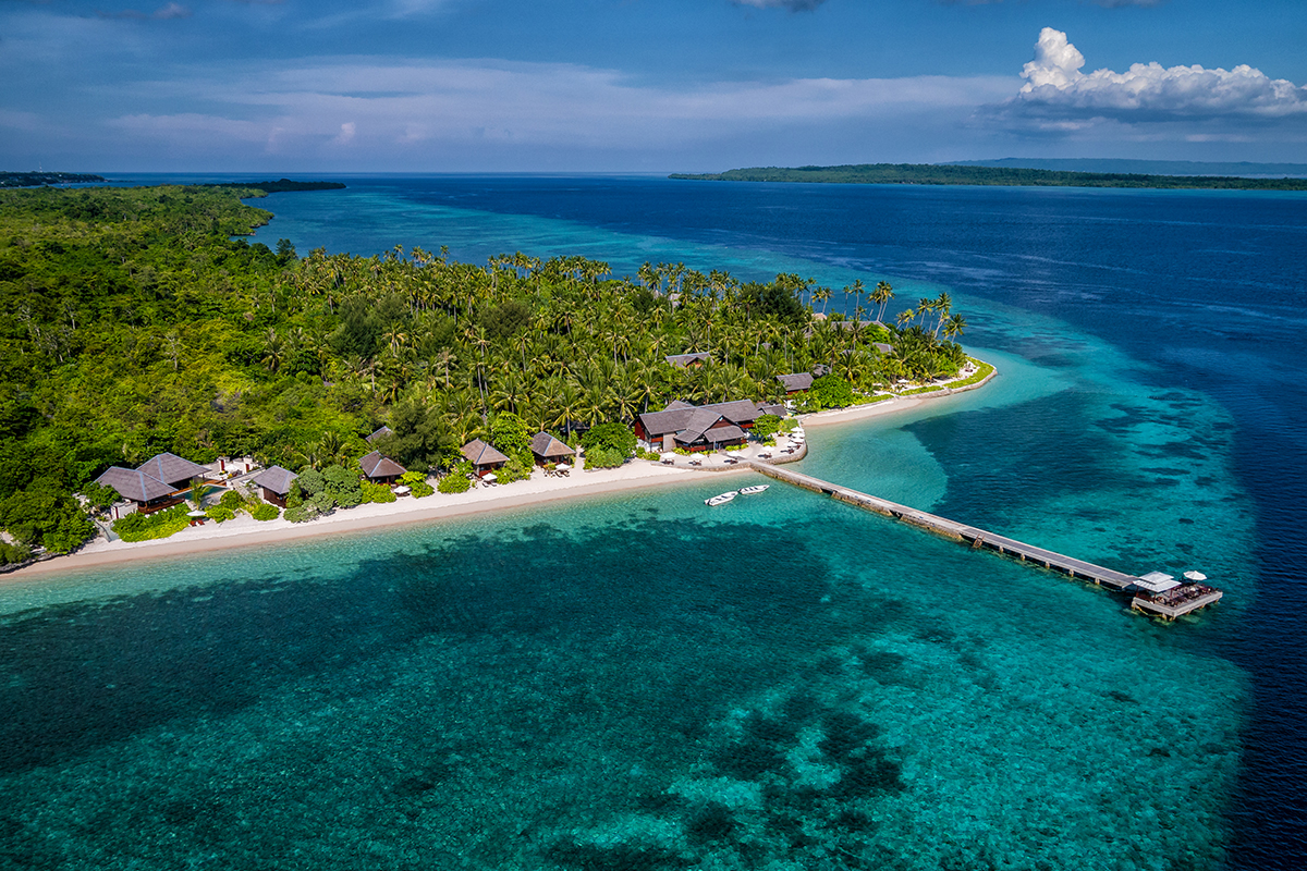 Just beyond the beach, the Wakatobi House Reef beckons with an enticing palette of color and unique marine life.