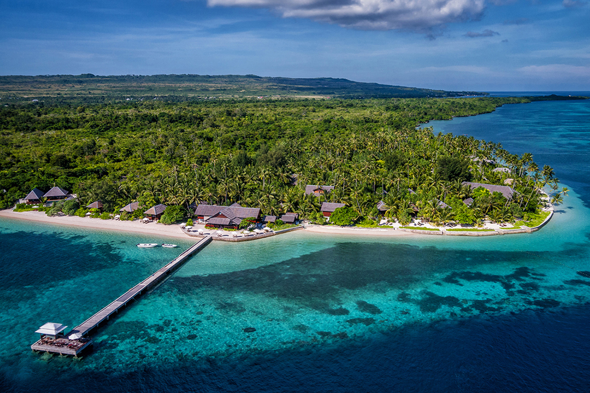 The resort and surrounding reefs are in prime condition, thanks to many of our staff and local supporters. Photo by Wakatobi Resort