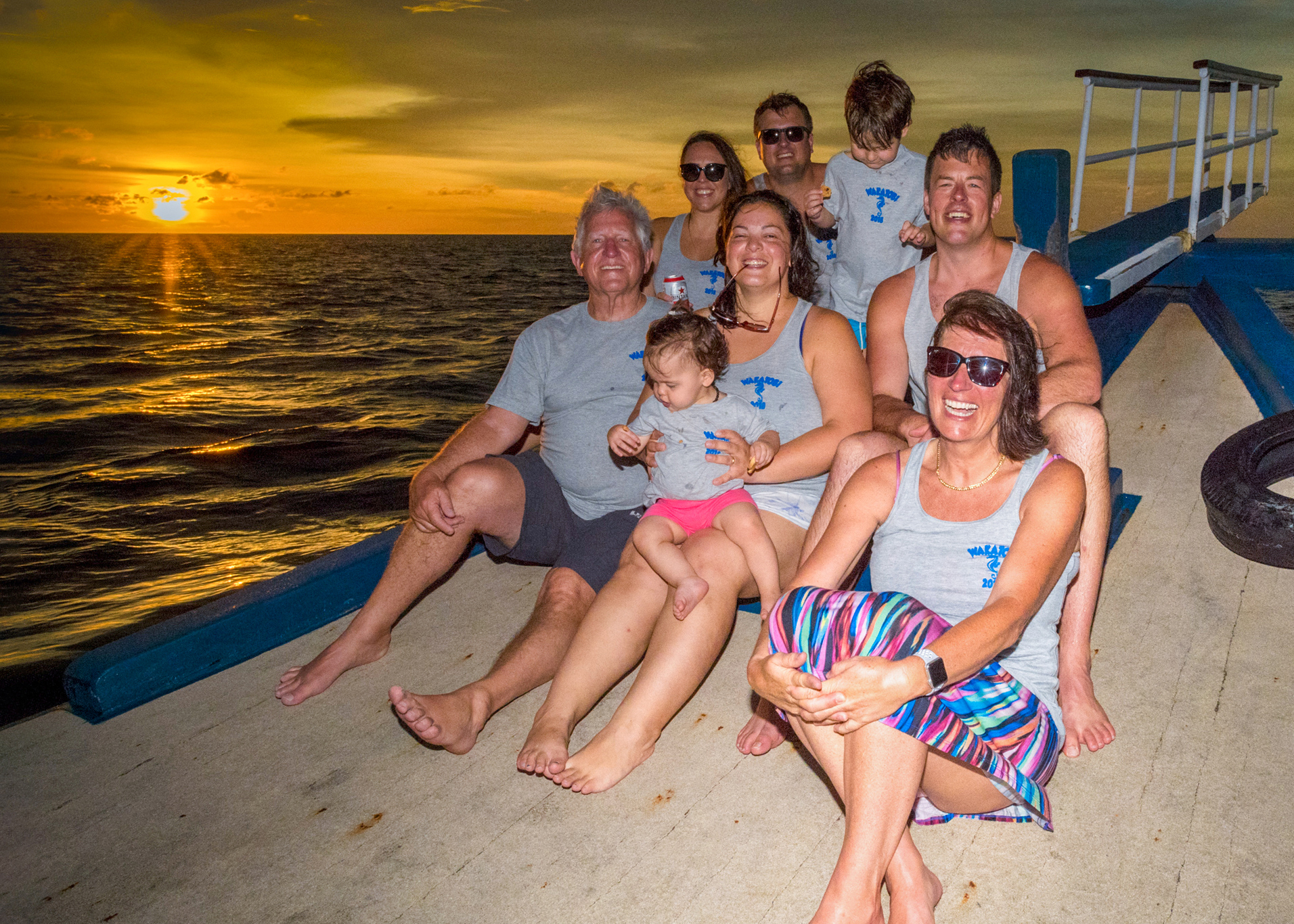 """The Lochries have made plans to revisit Wakatobi in 2022 and are """"counting the days"""" until their return. This photo was taken by Wakatobi staff."""