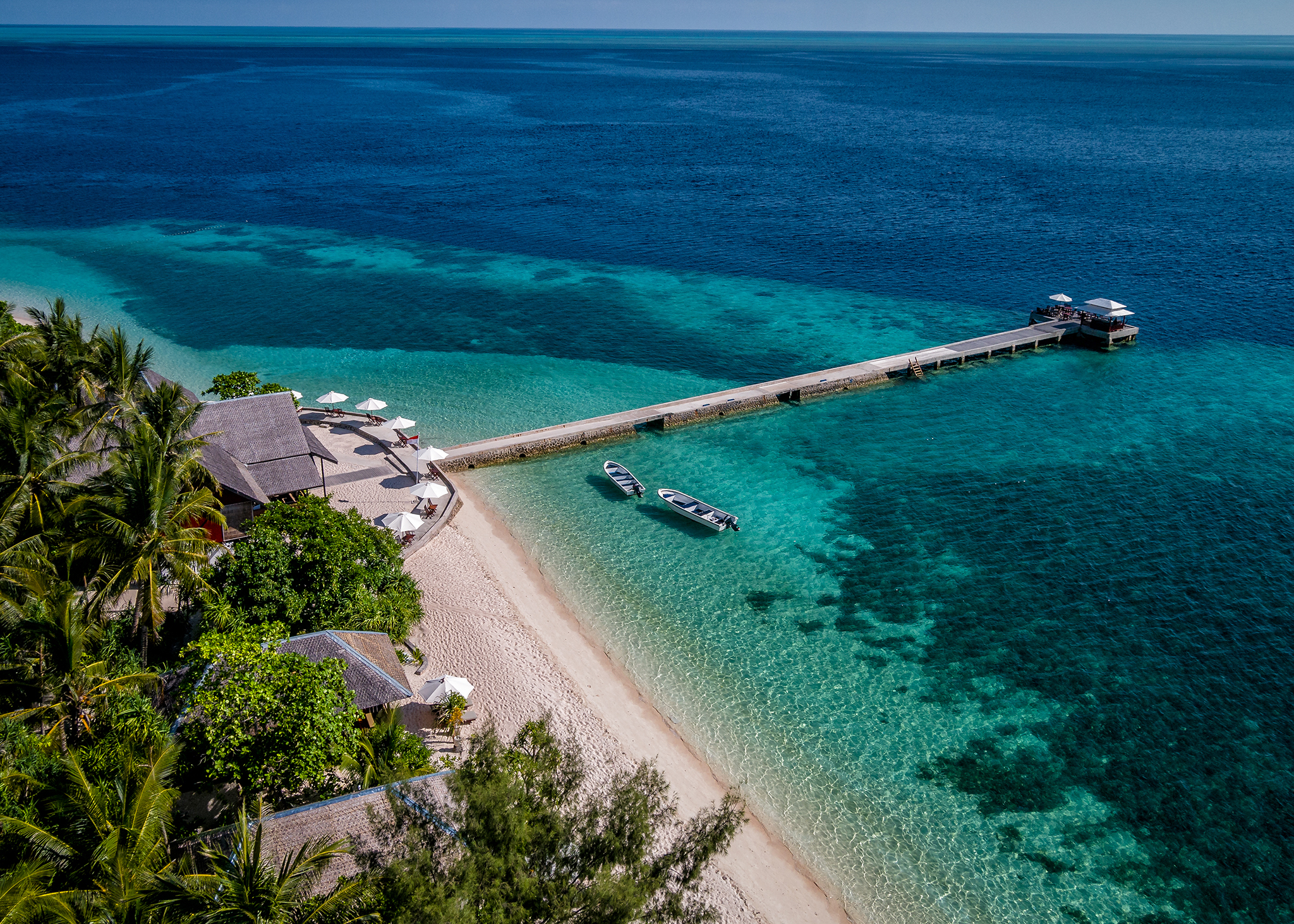 """""""I look forward to the simplicity of walking barefoot in the soft Wakatobi sand and gazing out at the most incredible House Reef on the planet,"""" says guest Rick McCawley."""