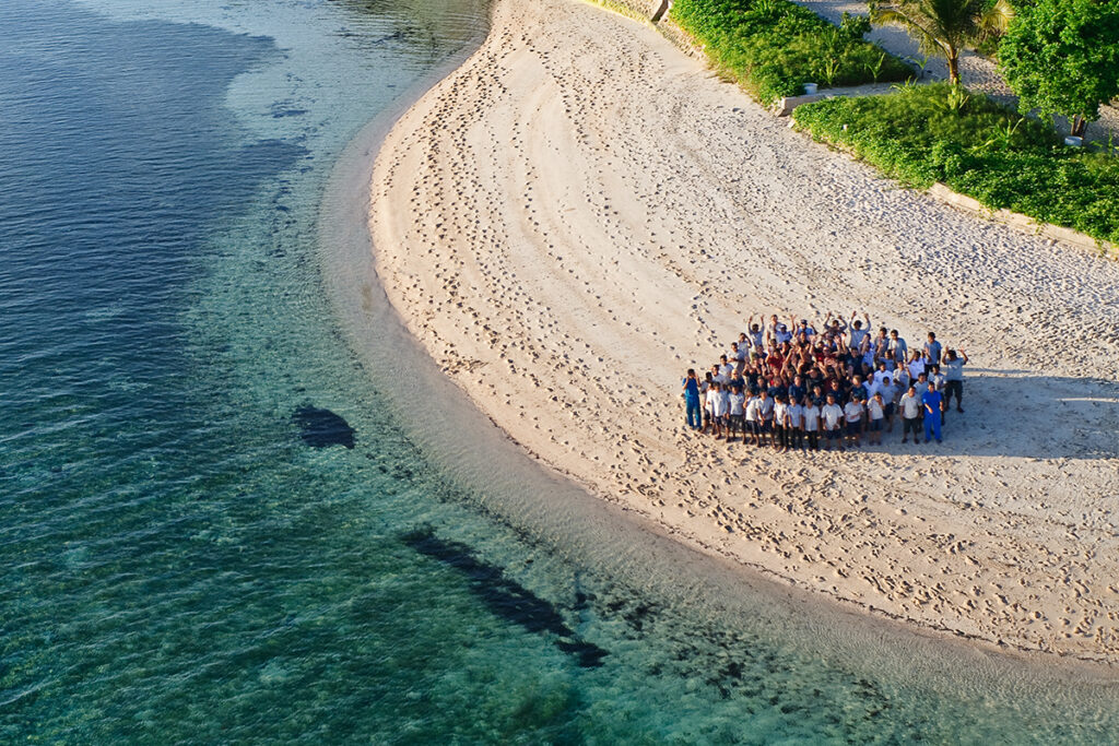 """Many of our guests have expressed how much they have missed their Wakatobi """"family"""" this past year. We miss all of you, and can't wait to see you again soon."""