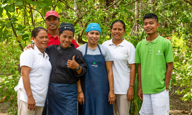 The Wakatobi team have received their vaccinations and are ready and waiting to give our cherished guests a warm welcome.